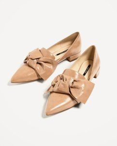 Chaussures papillons nude super confortable