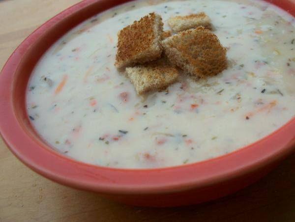 ✻ ✻ Delicious Cream of Reuben Soup ✻ ✻ Recipe: http://www.food.com/recipe/delicious-cream-of-reuben-soup-185381