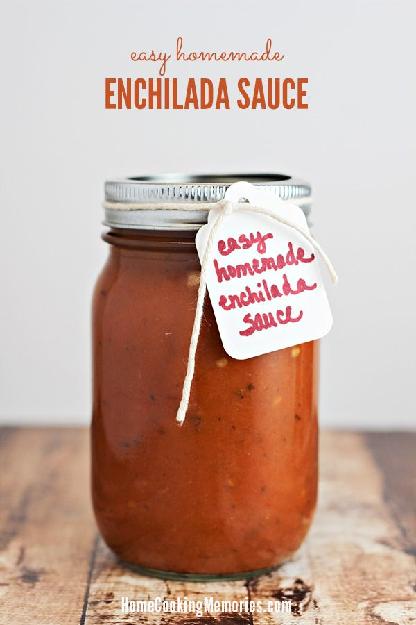 Skip the canned enchilada sauce — this easy homemade enchilada sauce recipe won't take you long to make and it's full of amazing flavor!