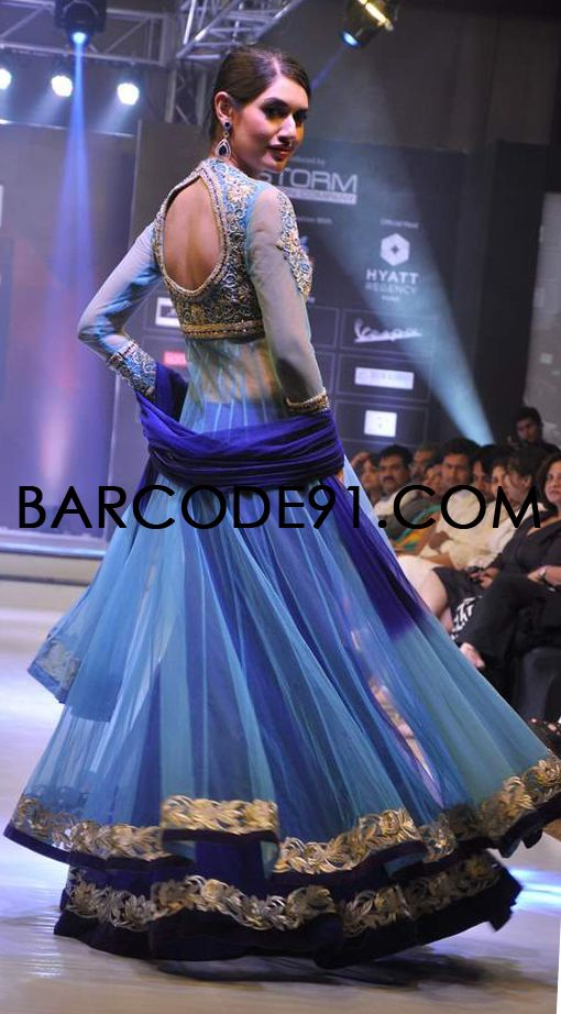 http://www.barcode91.com/ AD Singh heavy ethnic collection at Signature Premier Pune Style Week 2013