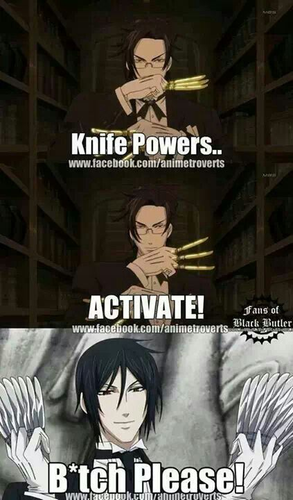 LOL! Sebastian will always be the best