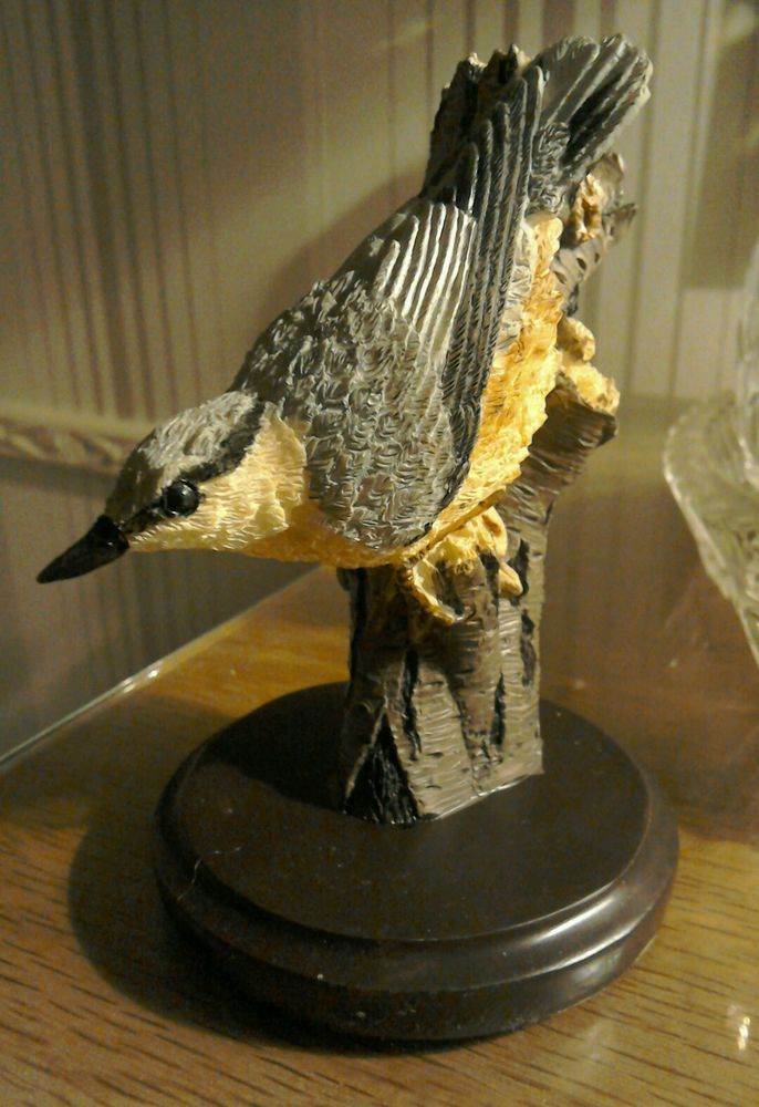 "••• THE COUNTRY BIRD COLLECTION "" THE NUTHATCH "" BY ANDY PEARCE in Collectables, Animals, Birds 