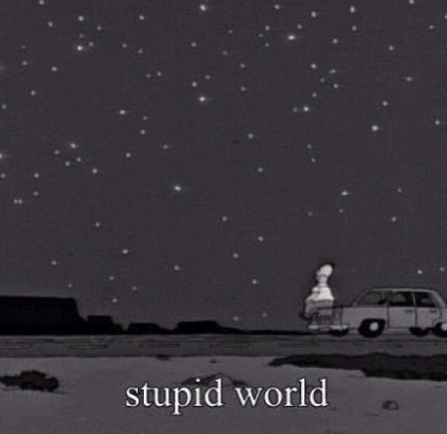 Stupid world -Homer Simpson | TV, Music, Comics etc ...
