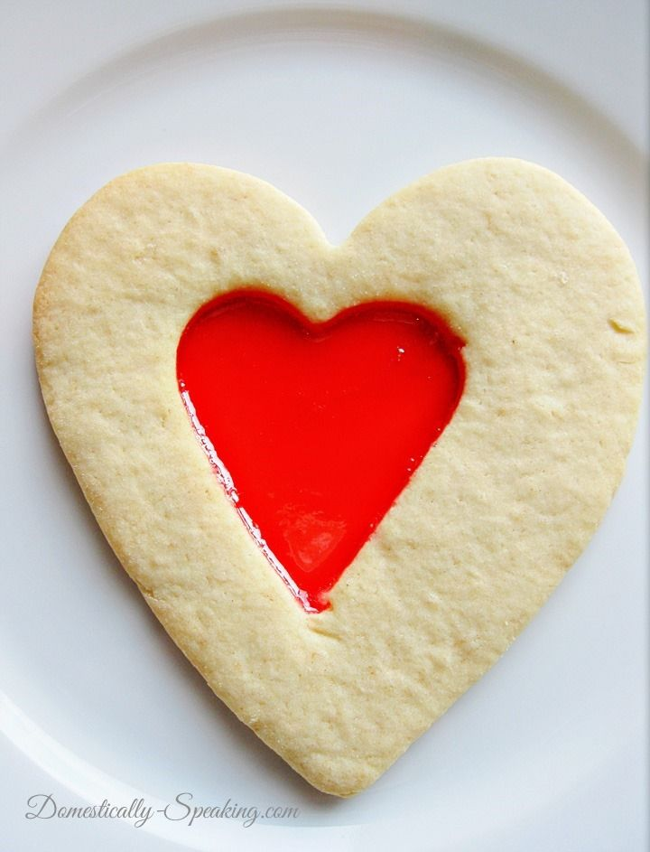 Valentine's Cookie and Candy in One