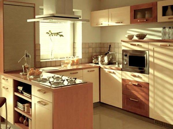Полуостров на кухне формы L