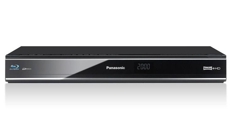 Panasonic DMRPWT520 MR | 3D Blu-ray Player with DVD Multi-Region 1TB HDD Freeview+ HD | Richer Sounds