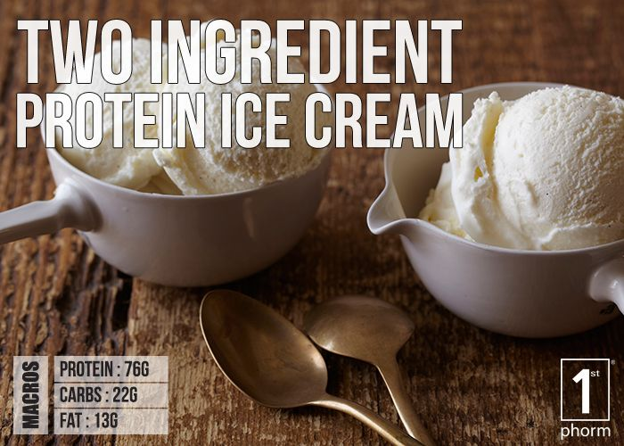 Click for our two ingredient protein ice cream recipe! Super simple with an insane amount of protein!! http://1stphorm.com/1st-phorm-two-ingredient-protein-ice-cream/ #1stphormrecipe #food #drink #cooking #recipe #nutrition #protein #fitness #1stphorm #legionofboom #neversettle