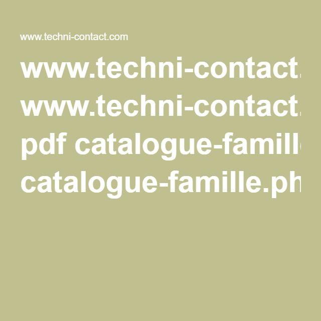 www.techni-contact.com pdf catalogue-famille.php?category=disque-de-lancer
