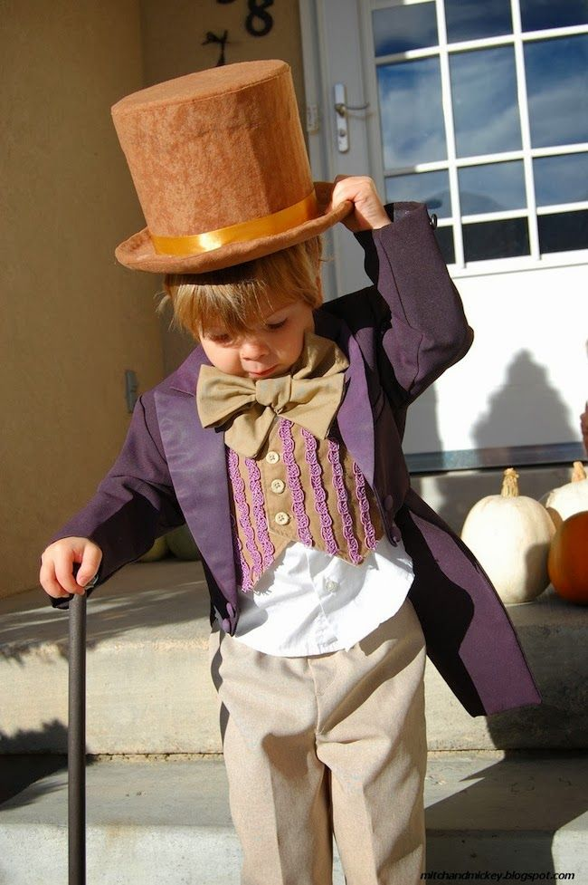 Cute Willy Wonka! A Lovely Lark: Even More DIY Halloween Costume Ideas for Kids