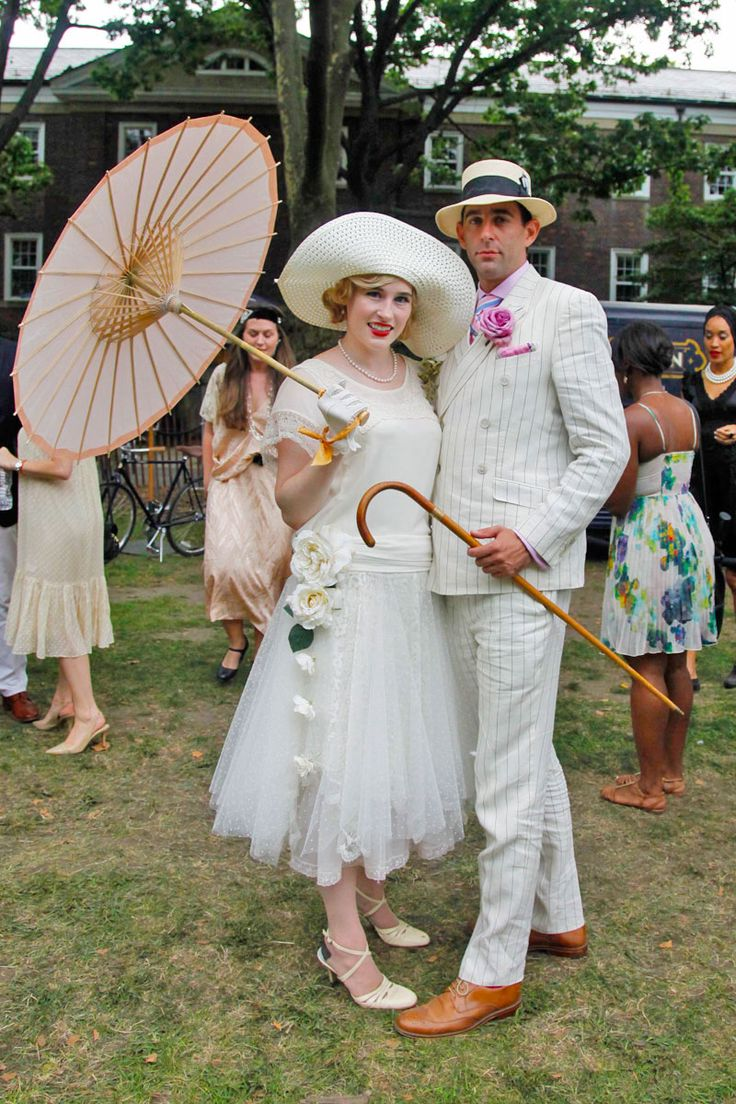 The Jazz Age Lawn Party Revives 1920s Style 1920s Style Wedding And New York