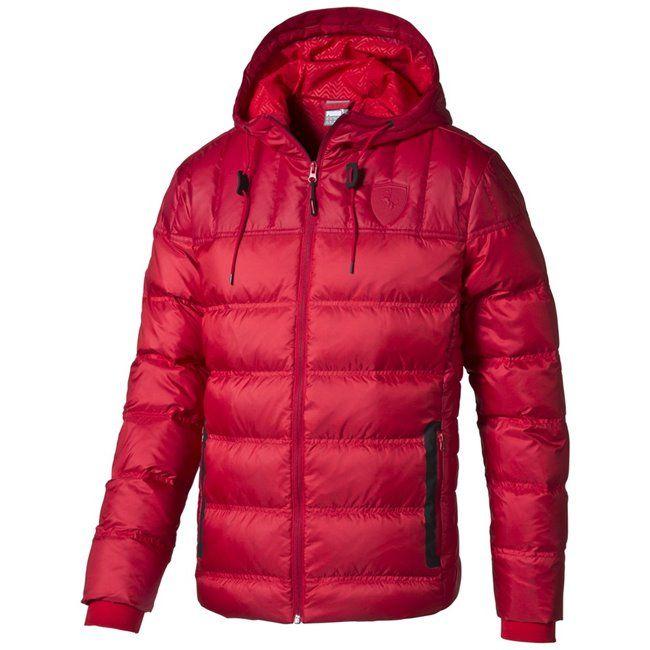 PUMA Ferrari Down Jacket pánská zimní bunda