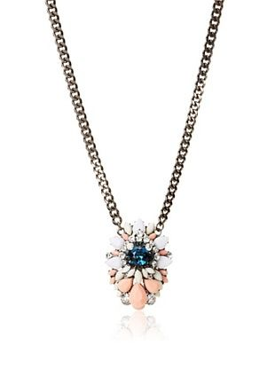 55% OFF Jules Smith Sapphire and Peaches Necklace