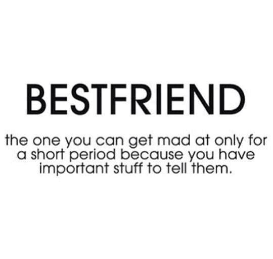 Great definition of a best friend.