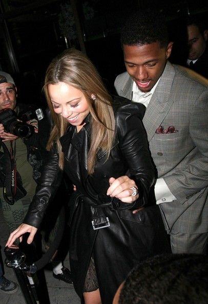 Mariah Carey Photos - Mariah Carey And Nick Cannon Out At Mr. Chow - Zimbio