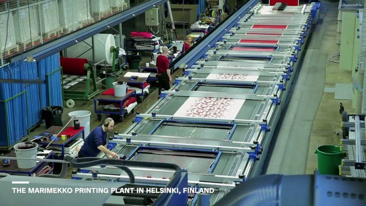 Marimekko Fabric Printing