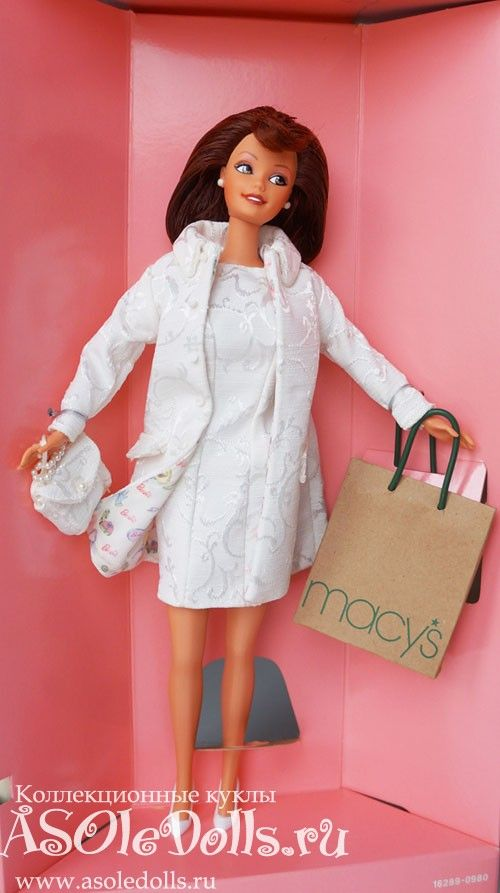 Коллекционная Барби НИКОЛЬ МИЛЛЕР  http://www.asoledolls.ru/shop/barbie/dizajnerskie/nicole_miller_city_shopper_barbie_doll/  3990=