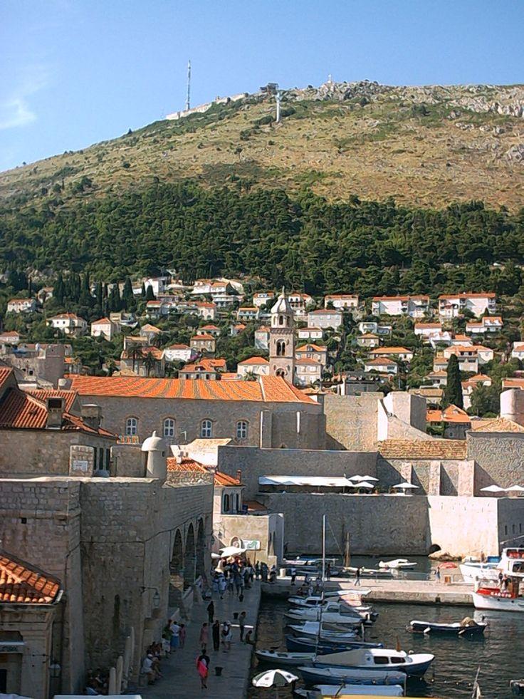 Stara część Dubrovnika, Chorwacja #chorwacja #dubrovnik #dubrownik http://www.chorwacja24.info/zwiedzanie/republika-dubrownicka