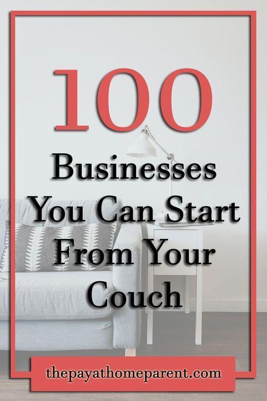 100 Legitimate Home Based Business Ideas 2018