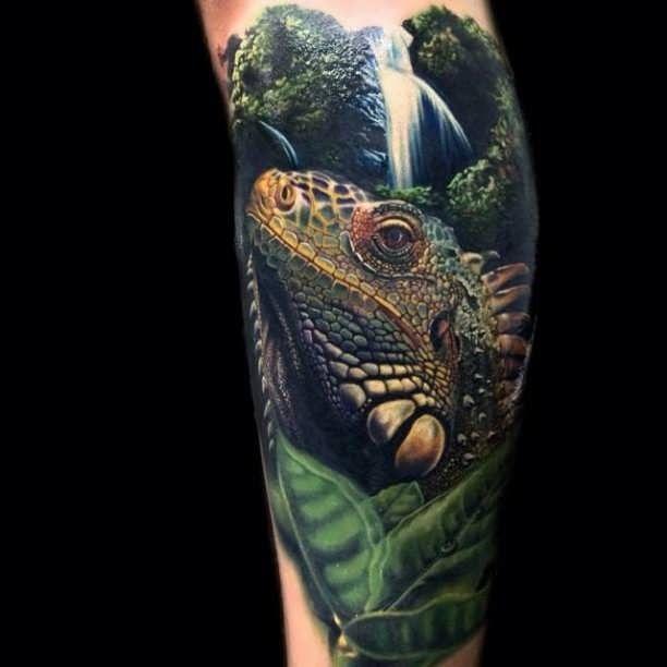 Tattoo Flash Chameleon Lizard: 17 Best Images About Tattoos Echsen Lizards On Pinterest