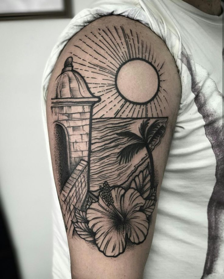 Puerto Rico tattoo