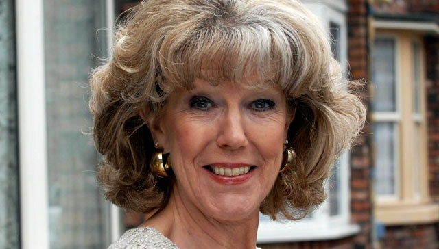 Audrey Roberts - Sue Nicholls. Audrey is Gail's mum and the granny of Nick and David. She is proprietress of the hairdressing salon.