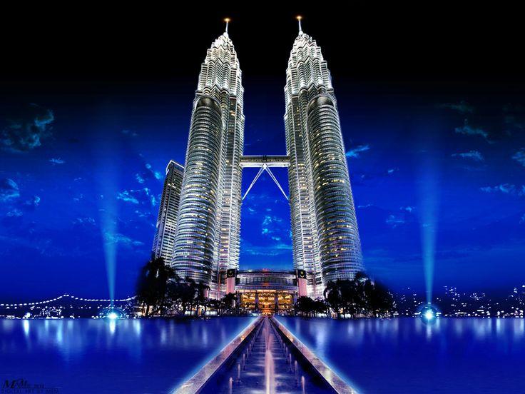 petronas-twin-towers-Kuala Lumpur, Malaysia.