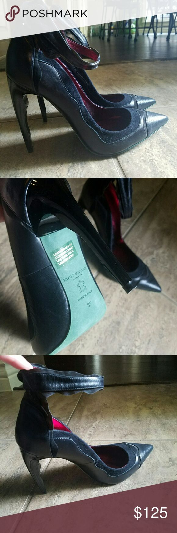 Brand New Kurt Geiger London Stilettos NWOT WEEKEND SPECIAL!! Brand New Kurt Geiger London...hard to find Stilettos!💕 Kurt Geiger  Shoes Heels