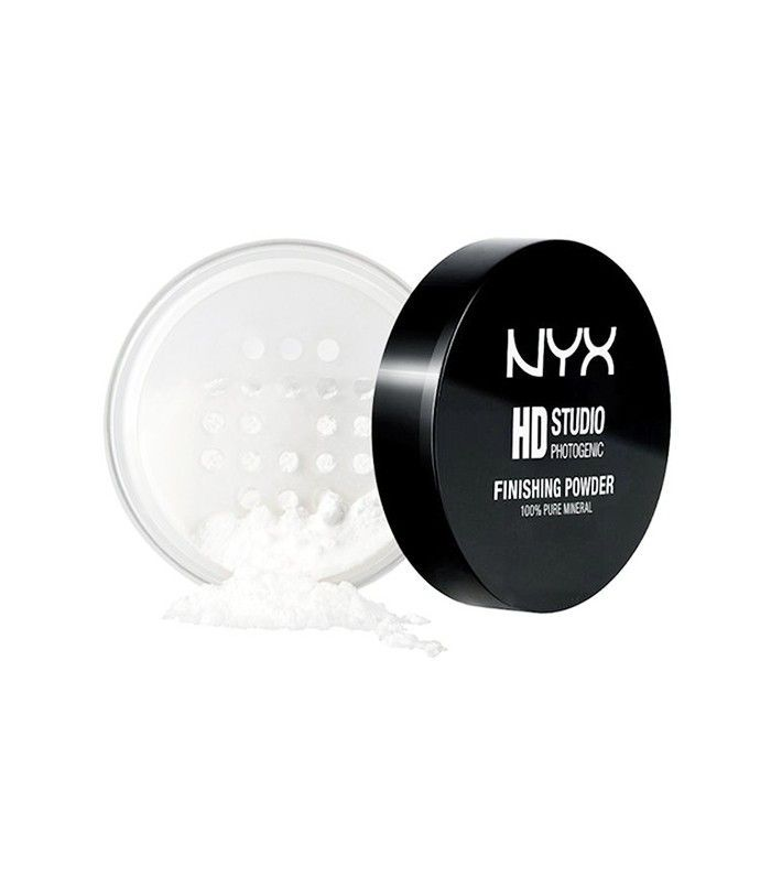 "Nyx Cosmetics Studio Finishing Powder Translucent Finish ($10) For all your baking, setting, and mattifying needs, makeup artists recommend this budget powder over most high-end alternatives. ""This is the perfect setting powder for ladies of all skin tones,"" says Spyksma. ""A little goes a long way and helps to keep your makeup on all day."" The pros love Nyx setting spray ($8), as well."