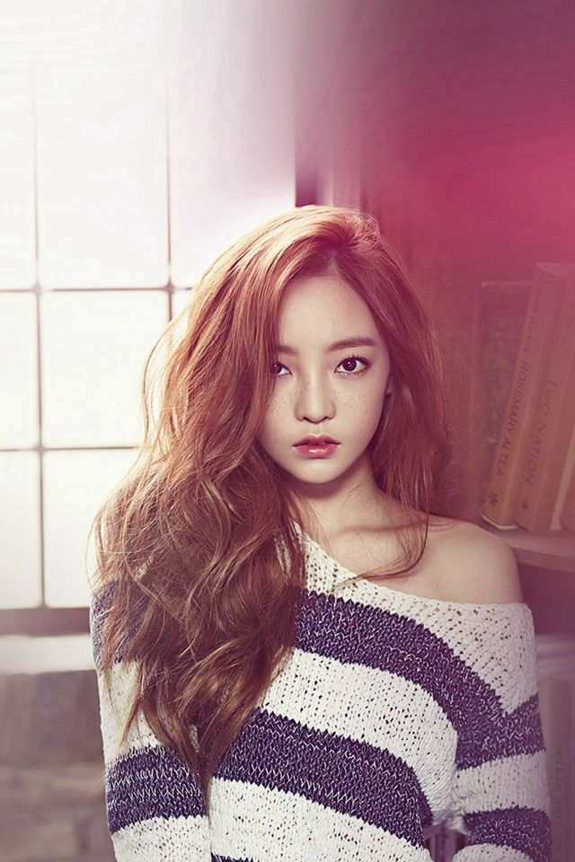 Goo Ha Ra Kpop Girl Music Flare Red #iPhone #4s #wallpaper