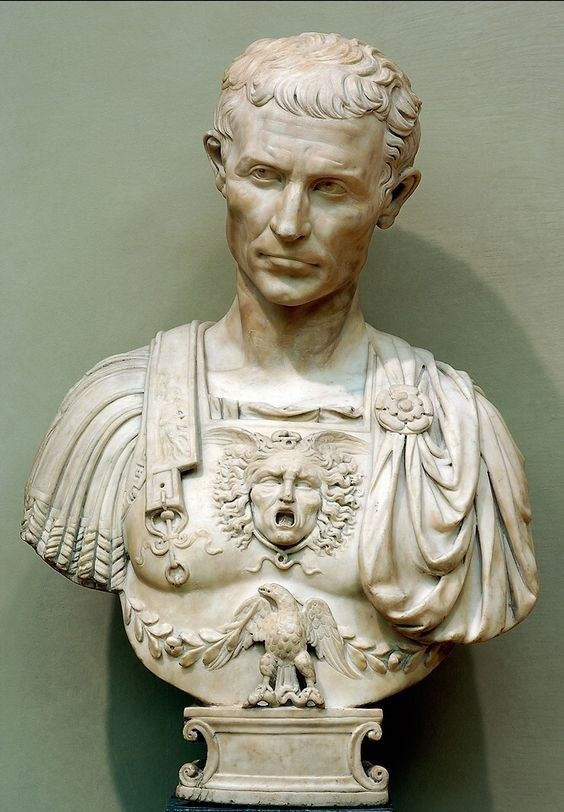 bust of Julius Caesar, 1515 – Andrea Ferrucci (Italian, Florentine, 1465-1526). – Gaius Julius Ceaser played a critical role in the gradual transformation of the Roman Republic into the Roman Empire.