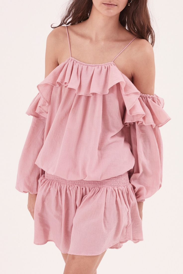 Steele - Savannah Mini Dress - Rose Pink