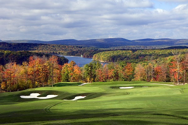 """My definition of """"The Rapture"""" - Lodestone Golf Club, McHenry, Md., in autumn."""