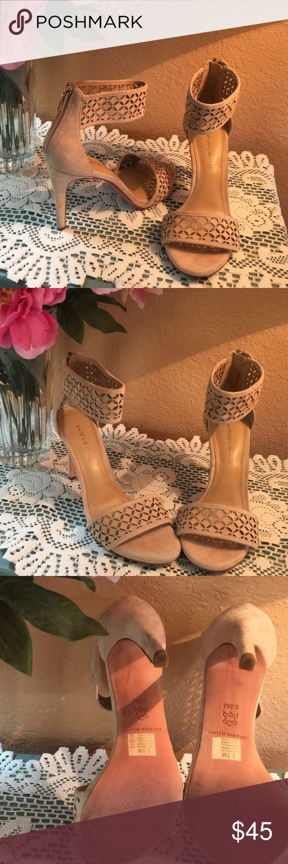 Antonio Melani dress shoe SZ 8.5 These shoes are very classy and would go well with a classy short dress or skirt. This is definitely a party shoe! ANTONIO MELANI Shoes Heels