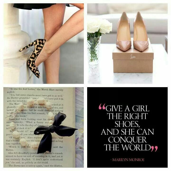 Give a girl the right shoes!