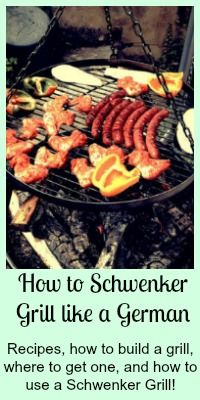 How to Schwenker Grill... Everything you need for a great Schwenkergrill Party! Grills, Recipes and how to instructions