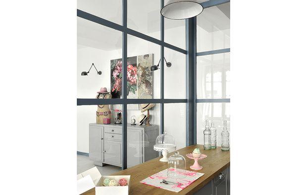 Dividere soggiorno e cucina con una vetrata | Home | Pinterest ...