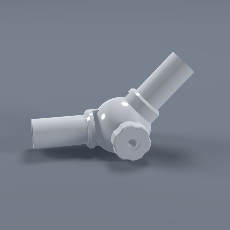 "FORMUFIT - 1-1/4"" Furniture Grade PVC Adjustable Elbow, $12.85 (http://www.formufit.com/1-1-4-furniture-grade-pvc-adjustable-elbow/)"