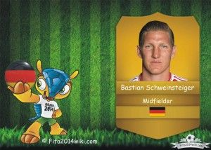 Bastian Schweinsteiger - Germany Player - FIFA 2014