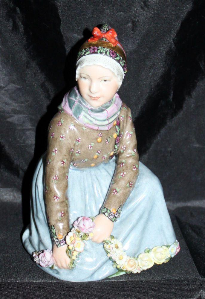 Royal Copenhagen Fano Girl No. 12413 Figurine