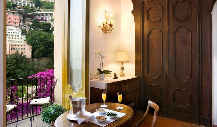 Anche l'Amico Cliente Hotel Palazzo Murat di Positano ha scelto la Linea Cortesia Esclusiva ed Ecologica Go Green by Alfera!