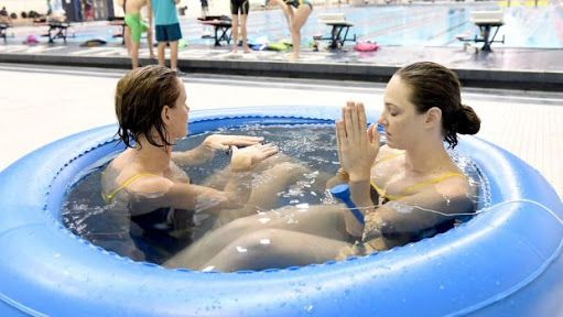 Hahaha Cate & Bronte Campbell  London 2012