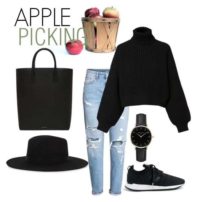 """""""Apple picking"""" by emmamashilo on Polyvore featuring H&M, New Balance, Diesel, ROSEFIELD and Satya Twena"""