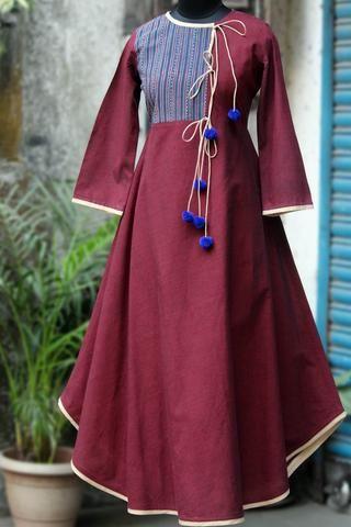 anghrakha dress - mulberry mood & indigo