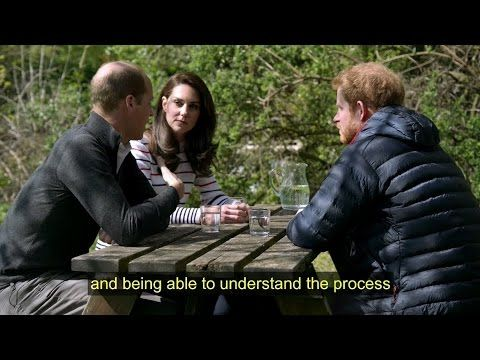 William, Catherine + Harry | Heads Together | #oktosay