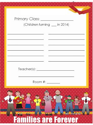 2014 primary theme door signs red background there are