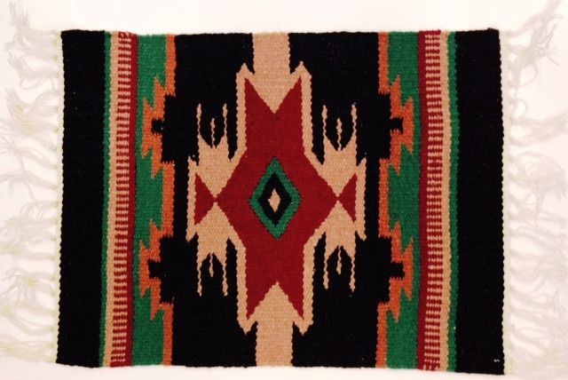(EPHIM1520-4) Woolen Southwestern Placemat