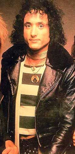 Kevin DuBrow (1955 - 2007) Lead singer of heavy metal group Quiet Riot