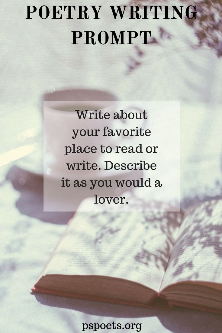 37 Best Poetry Writing Prompts Images On Pinterest