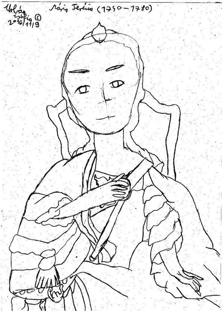 Maria Teresa by ShiroZakuro.deviantart.com on @DeviantArt