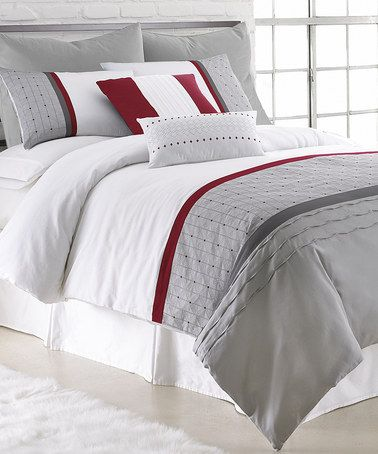 Look what I found on #zulily! Dexter Dots Comforter Set by Colonial Home Textiles #zulilyfinds
